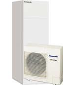 Panasonic toplotna črpalka zrak - voda 5kw All in One Kit-ADC05HE5 1F